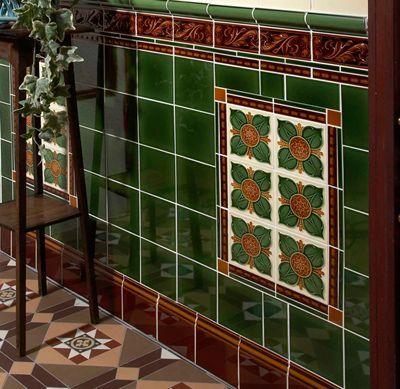 Victorian Porch Wall Tile Google Search Supplier Is Craven Dunnill Jackfield Website Decorative Wall Tiles Wall Tiles Porch Wall Tiles
