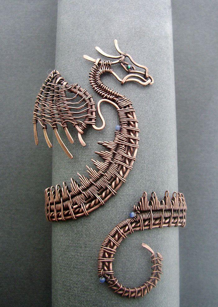 Pin von Ro Lo auf Jewelry | Pinterest | Draht, Gestalten und ...