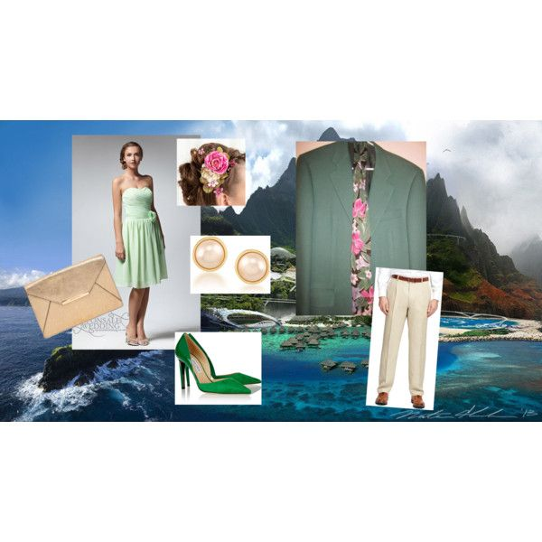 Hawaiin Affair by ladylancaster on Polyvore featuring Jimmy Choo, MICHAEL Michael Kors and Carolee