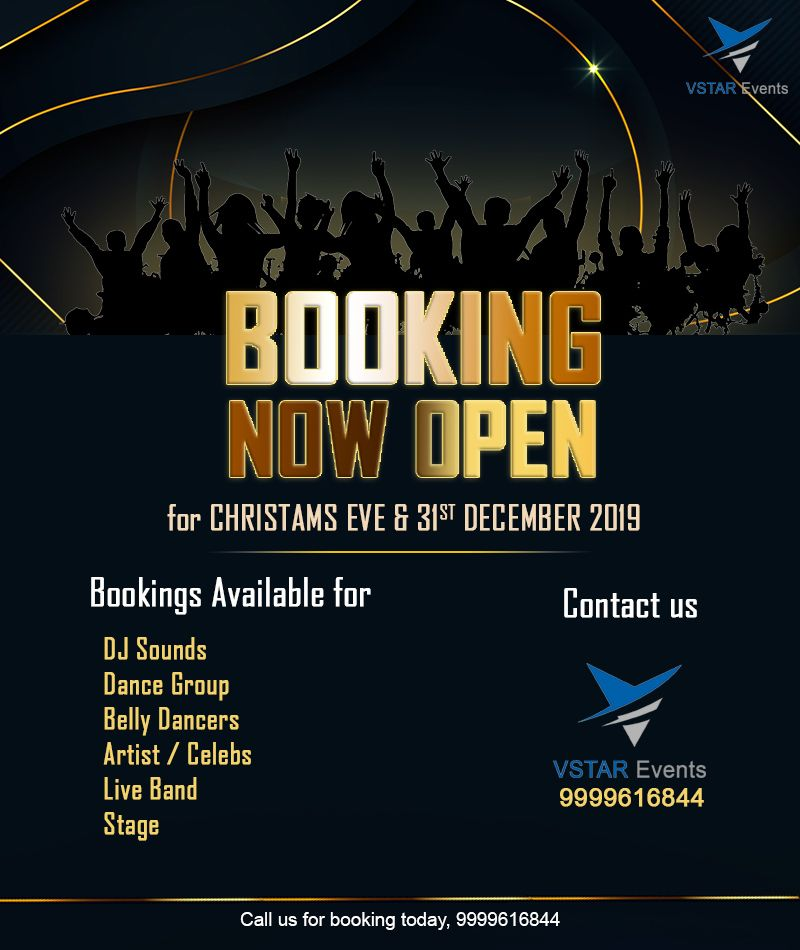 2020 Dj Christmas Partys Now Booking Booking Now Open! . . For Booking Call Us Today !+91 9999616844