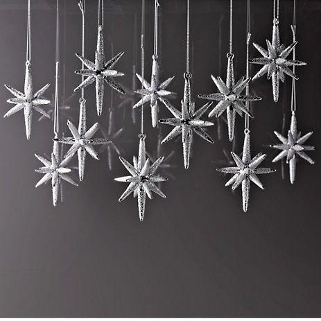 Glitter Starburst Ornament {No. 16} - bystephanielynn