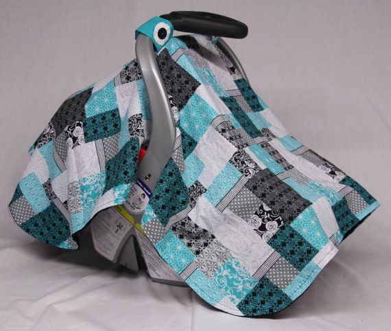 Check out this item in my Etsy shop https://www.etsy.com/listing/222575214/quilt-patchwork-baby-car-seat-canopy