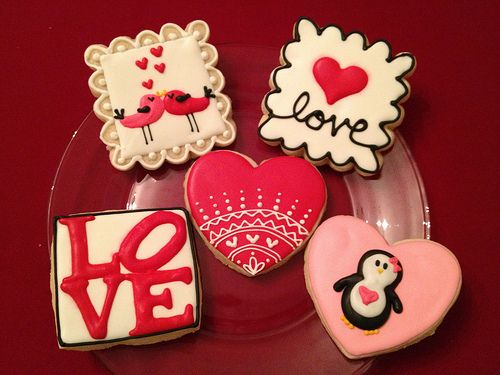 valentine's day cookies - google search | cookies for the kids, Ideas
