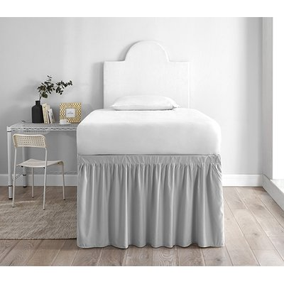 Winston Porter Guidry Dorm 30 Panel Bed Skirt Dorm Bed Skirts Dorm Bedding College Bedding