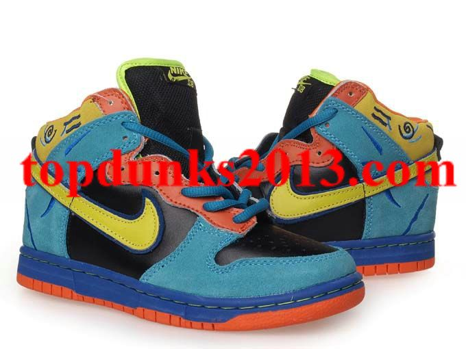 Review Pro SB Skate or Die 304292 073 Nike Dunk High Top Kids