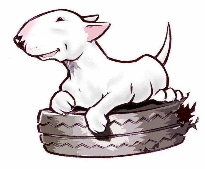 #Bull #Terrier #paint