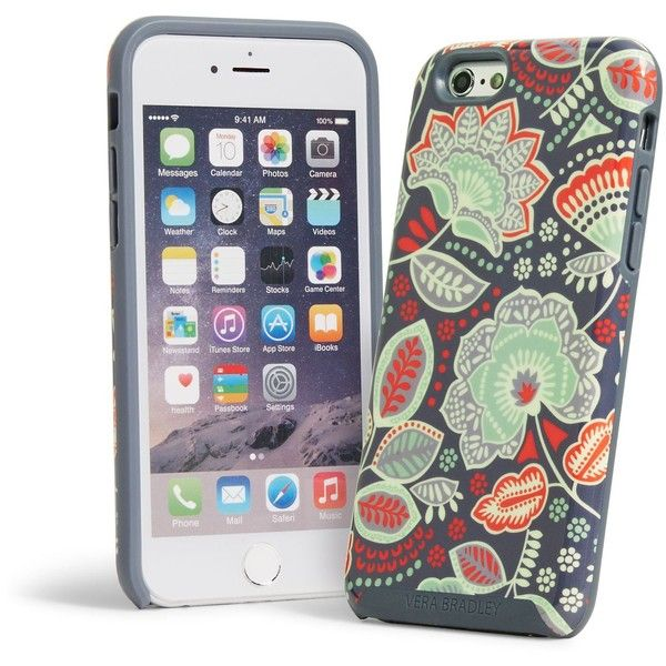 save off 45875 6f8eb Vera Bradley Hybrid Case for iPhone 6/6s in Nomadic Floral ($38 ...