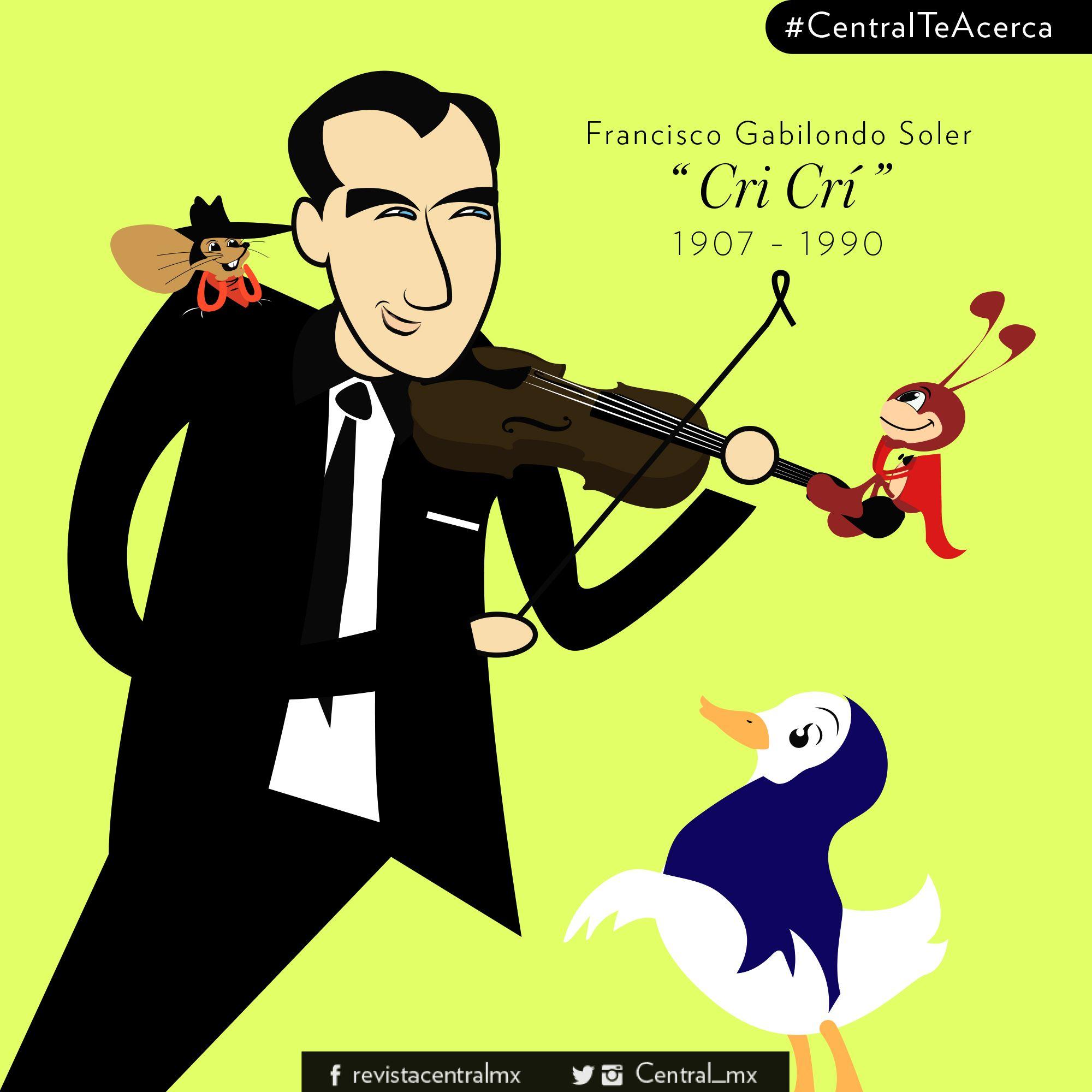 6 de octubre de 1907, nace Francisco Gabilondo Soler.