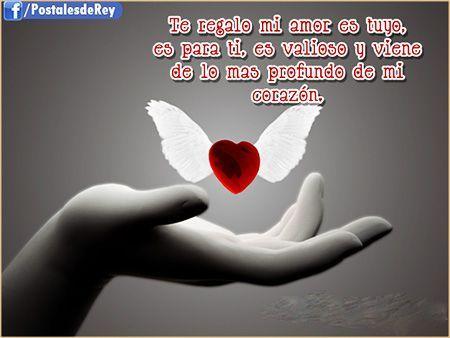 Imajenes De Amor Frases Romanticas Amor Pinterest Amor