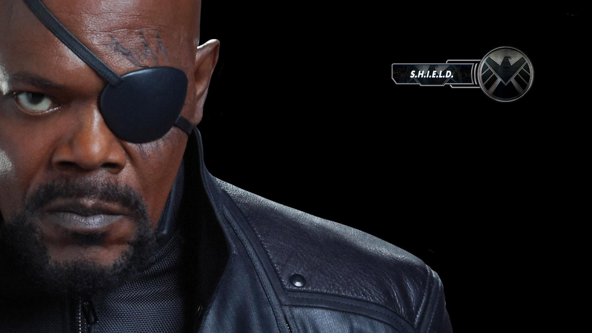 The Avangers Nick Fury Wallpaper