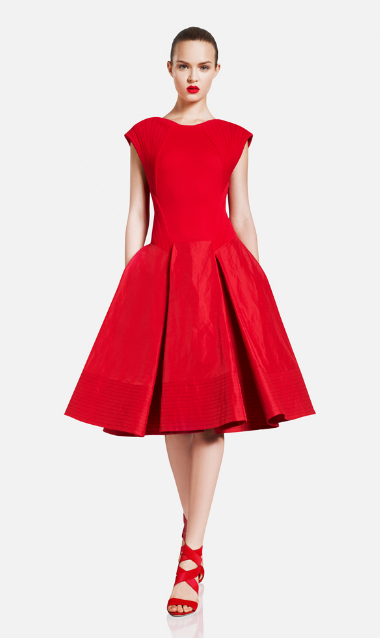 donna-karan-resort-2012-red-dress.png (380×638)  Lady In Red ...