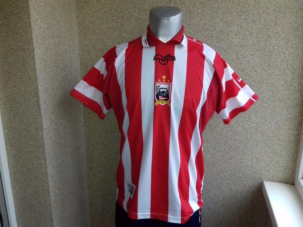 ESTUDIANTES LA PLATA HOME 1999-2000 ARGENTINA FOOTBALL SHIRT L JERSEY  CAMISETA (eBay Link 19d8deff1