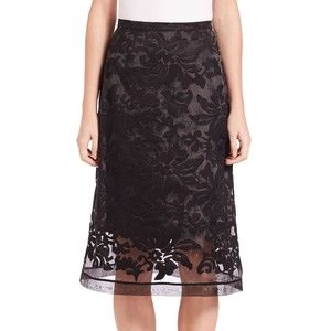SET Lace Midi Skirt
