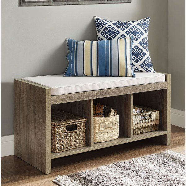 Claudia Storage Bench with Cushion images