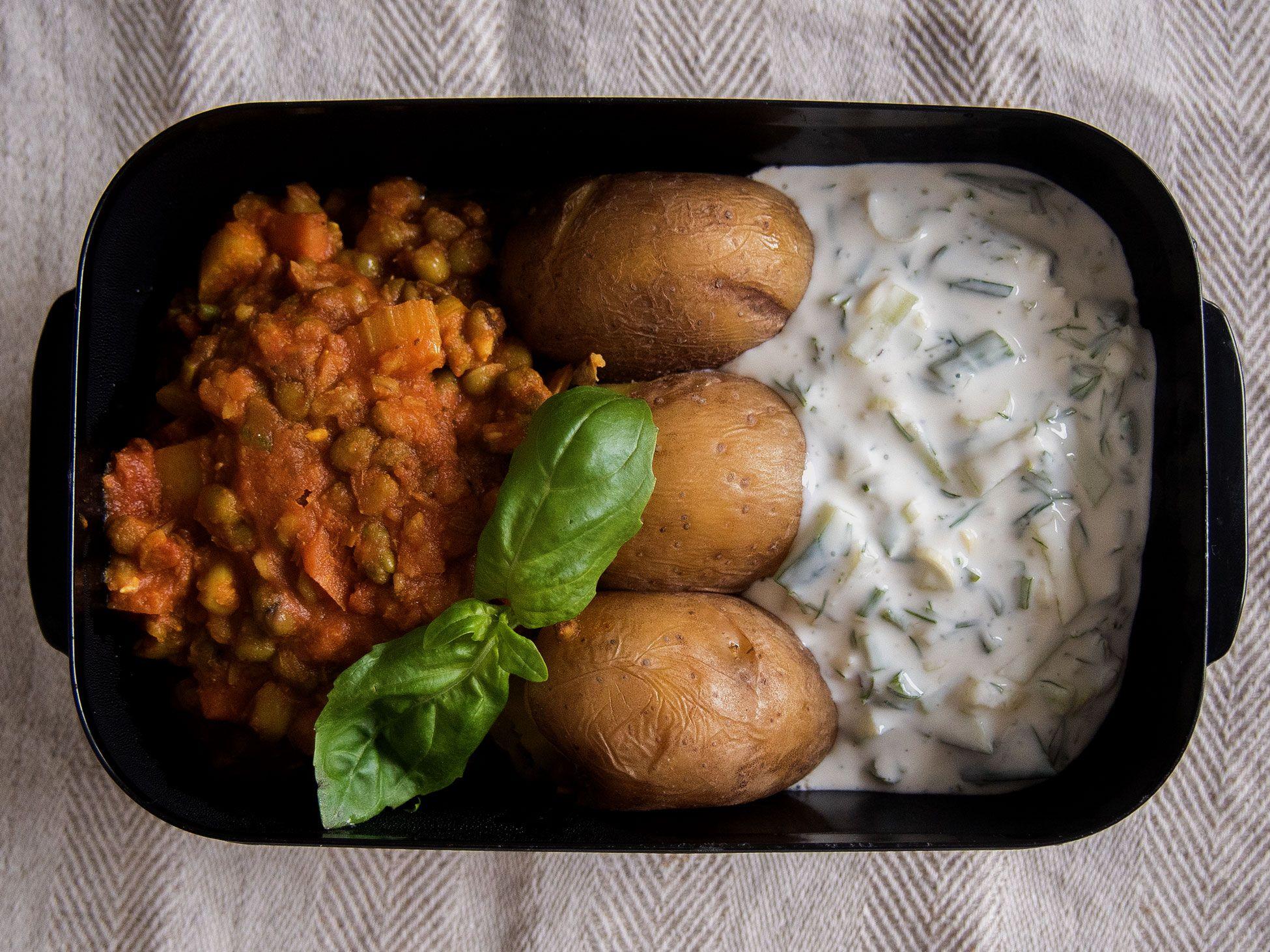 Eväsrasia |Linssejä, raitaa ja perunaa