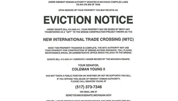 Printable Sample Notice Of Eviction Form  Real Estate Forms