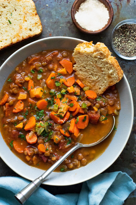 Lentil Soup  — Amanda Frederickson