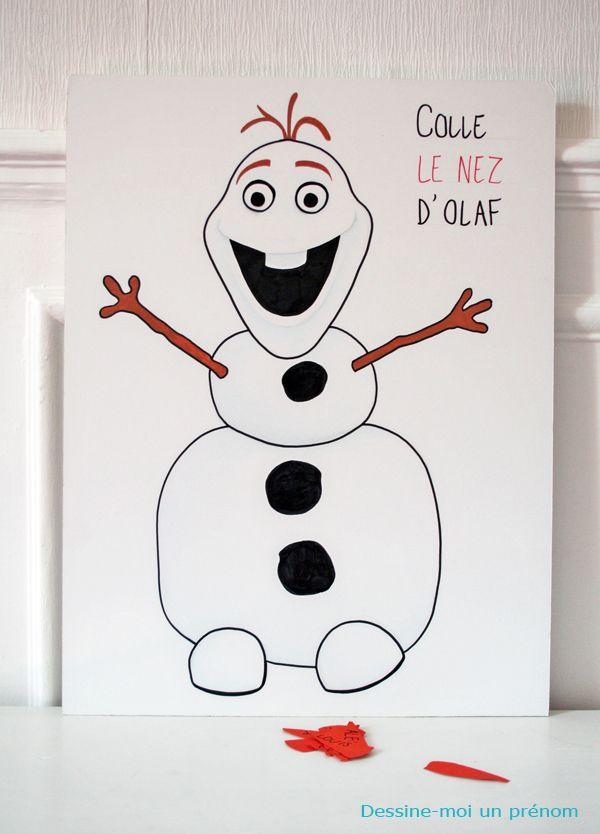 Diy jeux anniversaire reine des neiges frozen reine des neiges pinterest anniversaire - Jeux princesse des neiges ...