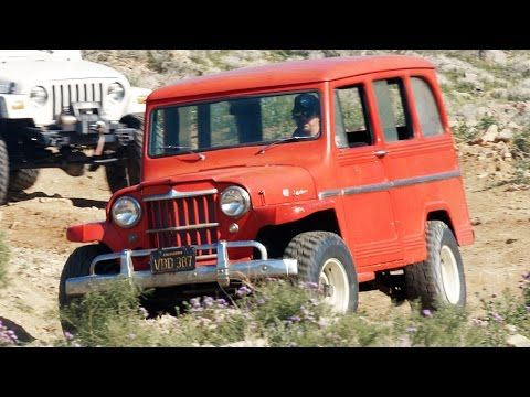 1961 Willys Wagon Barn Find Fix Up
