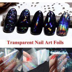 1pcs Transparent Nail Art Foils
