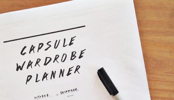 Capsule Wardrobe 101: Free Capsule Wardrobe Planner | Unfancy. Need a little more guidance on this whole capsule wardrobe thing? This blogger has got your back. She made this little planner to help you uncover your personal style + build a totally workable wardrobe. And…it's free. Click this pin to download and print the free printable and start playing! #prinable #free #capsule #wardrobe #planner #closet #clothing