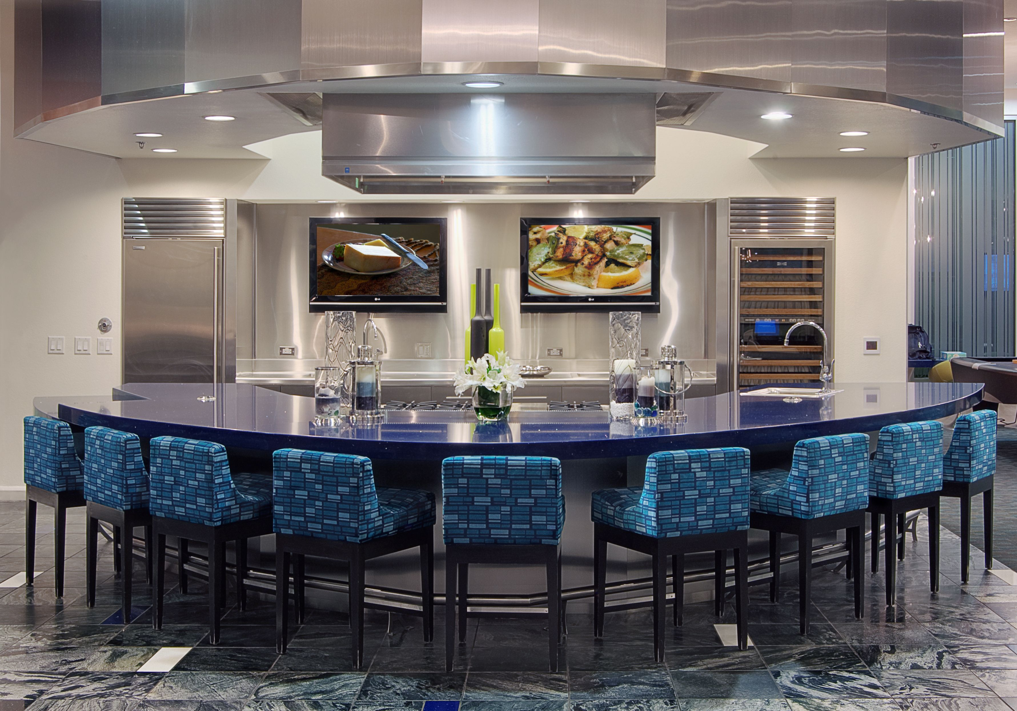 Gourmet Demonstration Kitchen Rent this out for you next