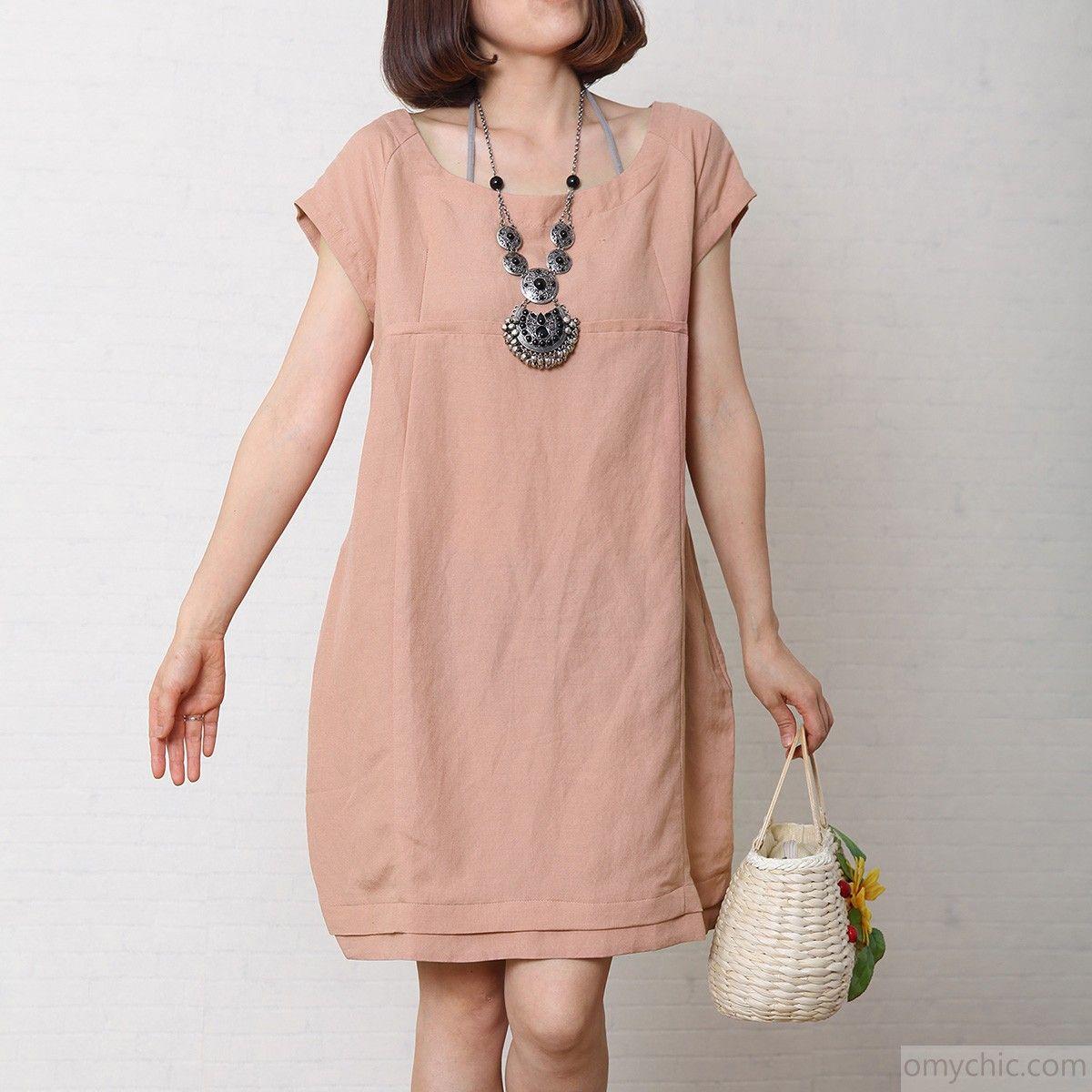 Nude_summer_linen_maternity_dress_oversize_cotton_shift_sundress_pink1_1.jpg