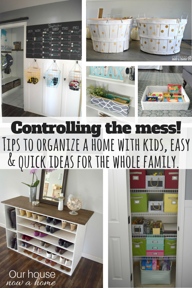 Easy tips  diy ideas to keep the whole family organized how  also rh pinterest