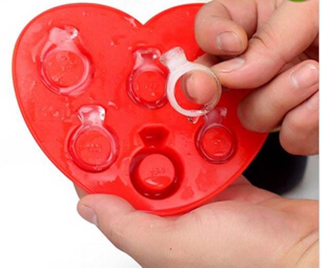 Pin By Una Yu On Silicone Ring Ice Tray Ice Tray Ice Cube Trays