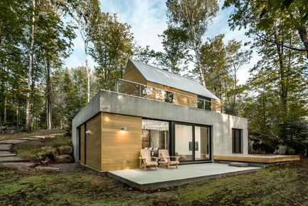 Trihaus by YH2 Architecture in Montreal, Canada WAN Pinterest