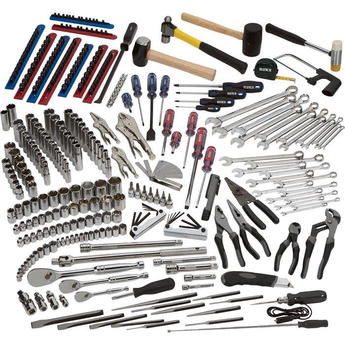 Diesel Mechanic Tools >> Klutch Diesel Mechanic S Tool Set 225 Pc 1 4in 3 8in