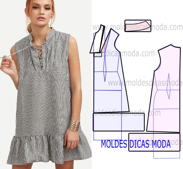 VESTIDO DE PRINCESA COM RISCAS | Moda y mas cositas cretivas ...