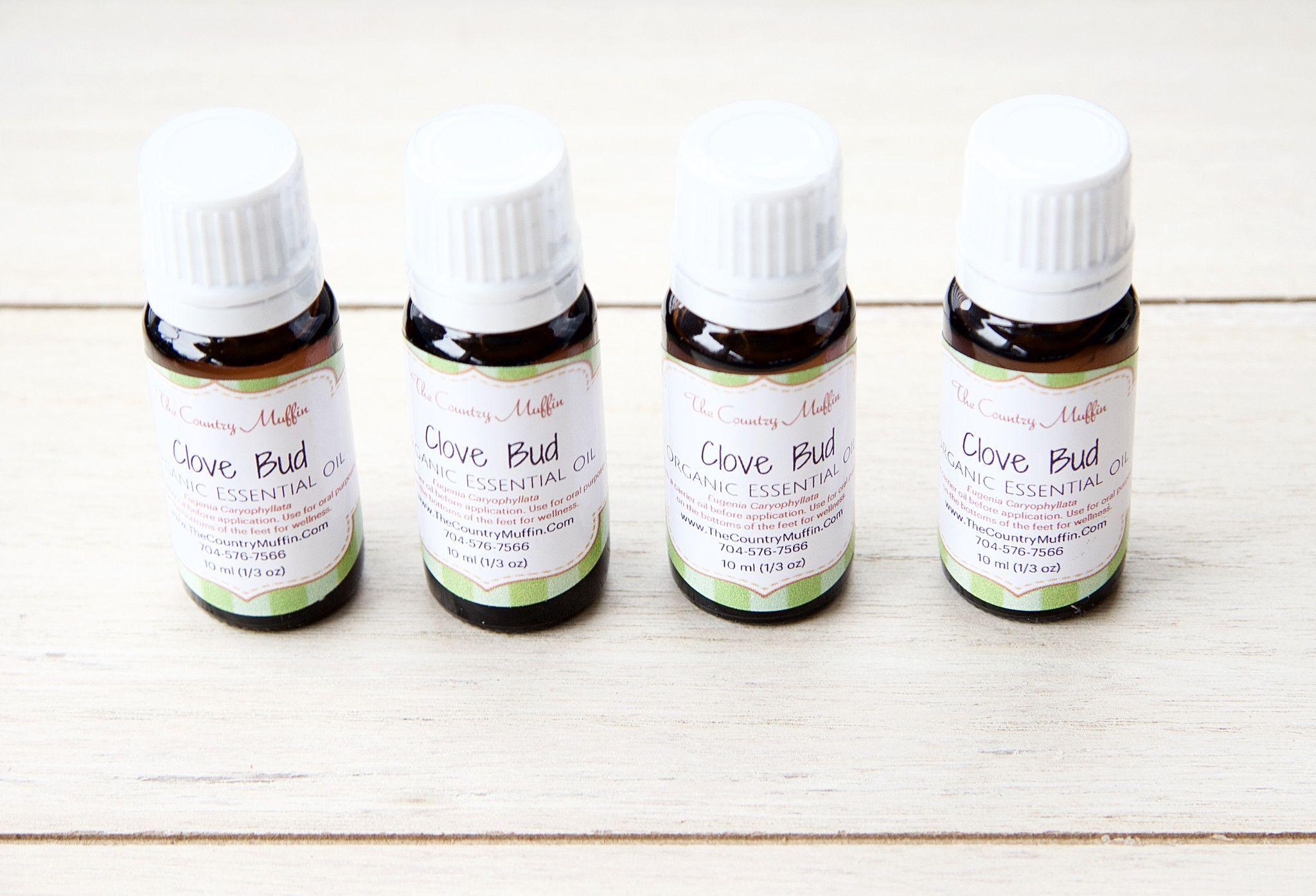 Clove Bud Essential Oil Organic  Products  Pinterest  Clove bud