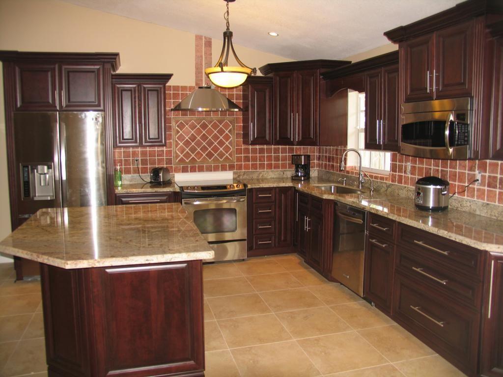 Dark Oak Kitchen Cabinets of How to Update Oak Kitchen ...