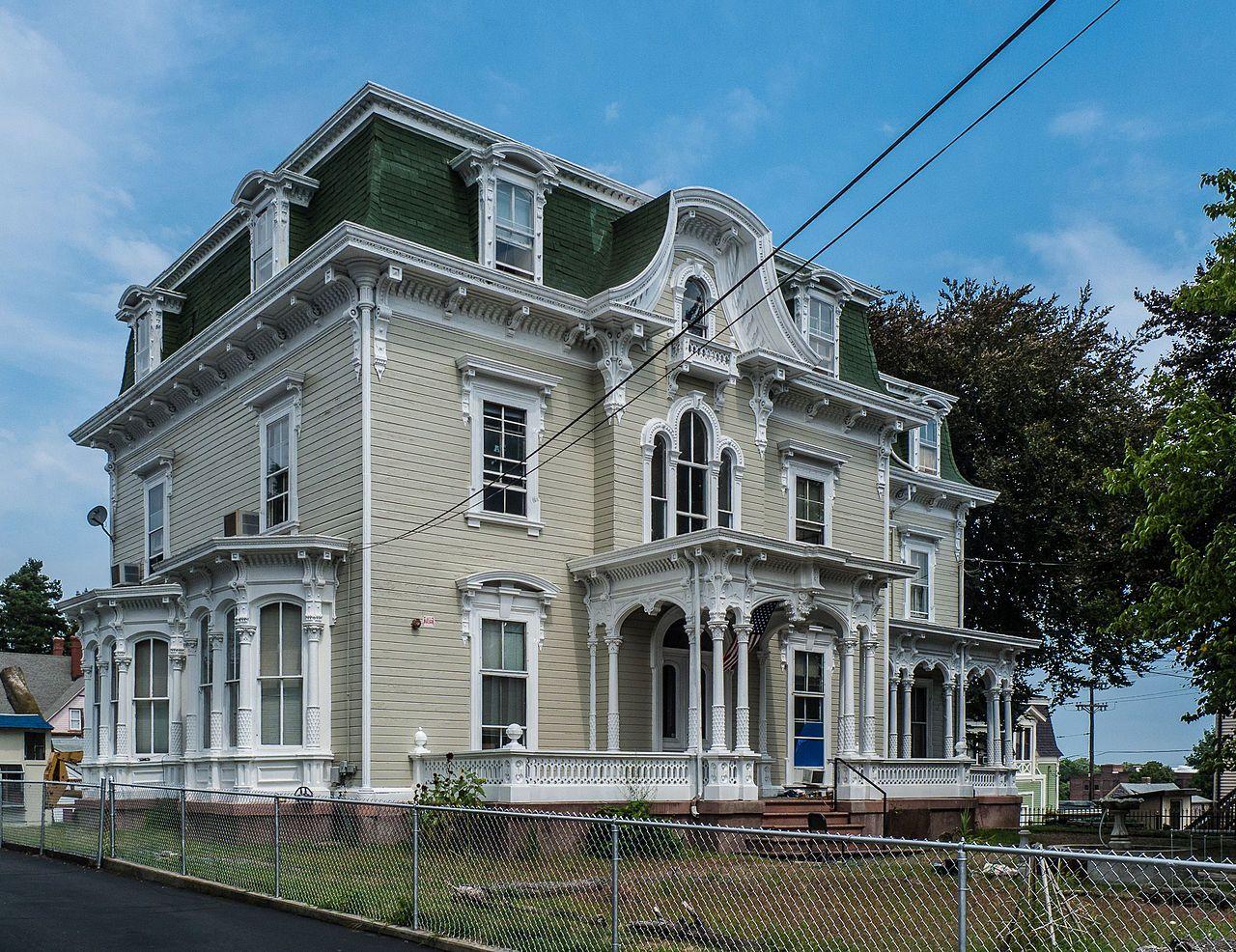 Benjamin f greene house in providence county rhode