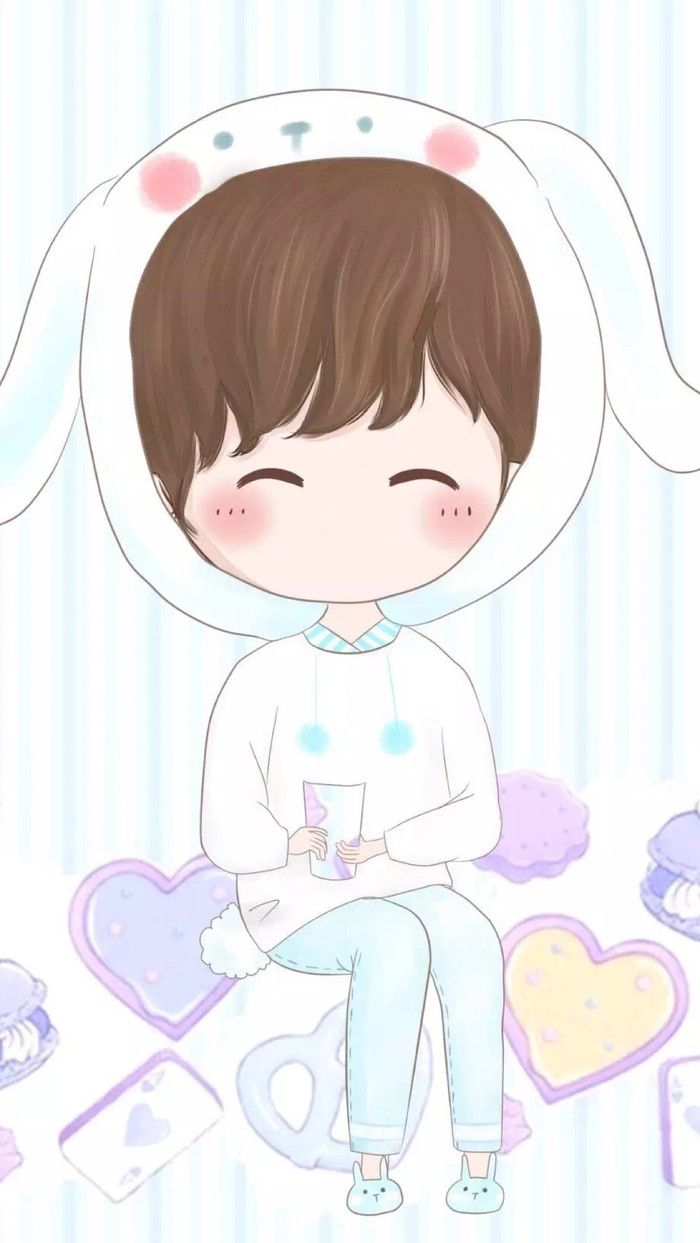小薇的世界光 情侣 壁纸 | cute 1 | pinterest | chibi, couples and