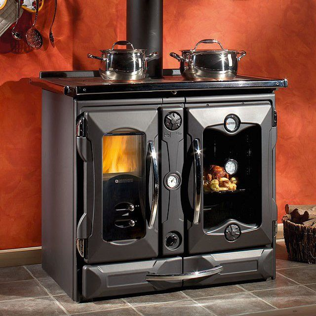 La Nordica Wood Burning Cooking Stove - La Nordica Wood Burning Cooking Stove Stove, Ovens And Plates