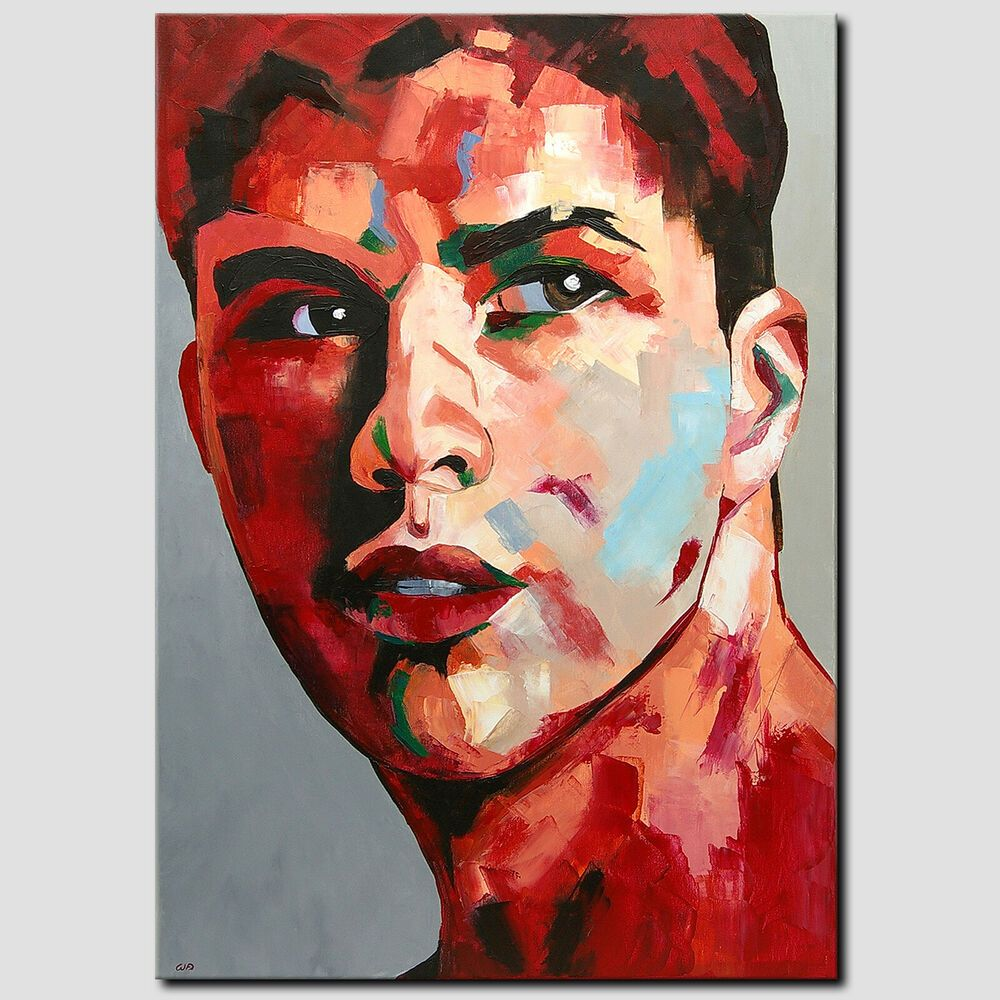 Novaarte Acryl Gemälde Abstrakte Malerei Pop Art Kunst Bild Mann Modern Original Malerei Abstrakte Malerei Acrylmalerei Abstrakt