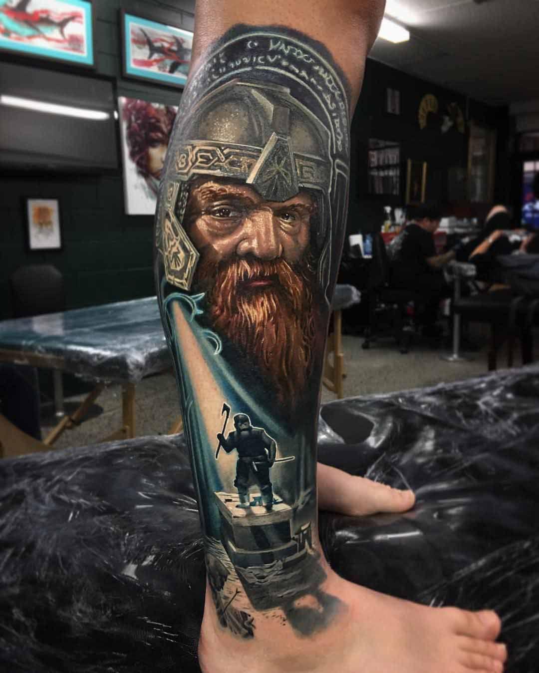 lotr tattoo gimli wikinger tattoos pinterest. Black Bedroom Furniture Sets. Home Design Ideas