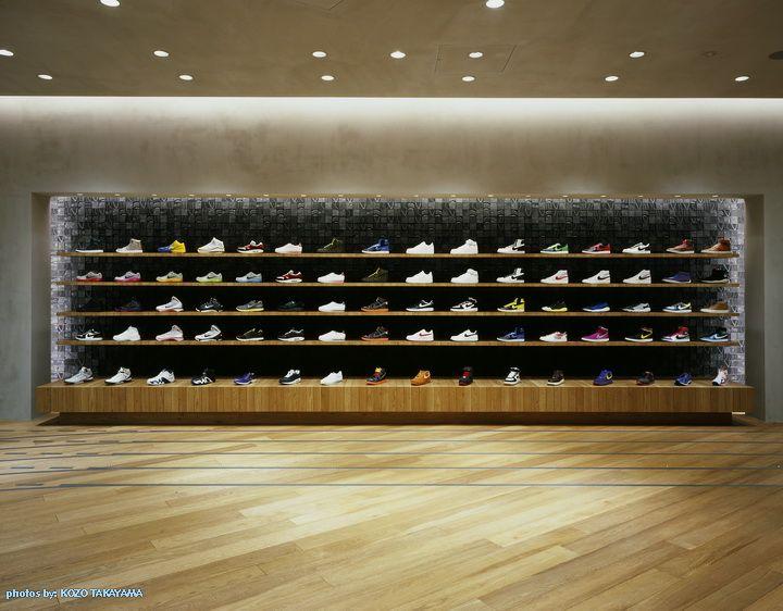 Nike's Harajuku flagship store by Wonderwall