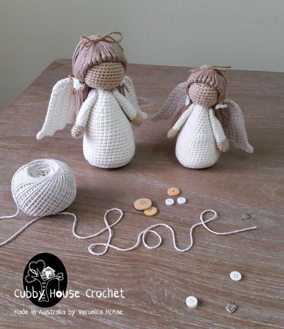 Angel Crochet Pattern 4 PDF \'s English, Swedish, Dutch, German ...