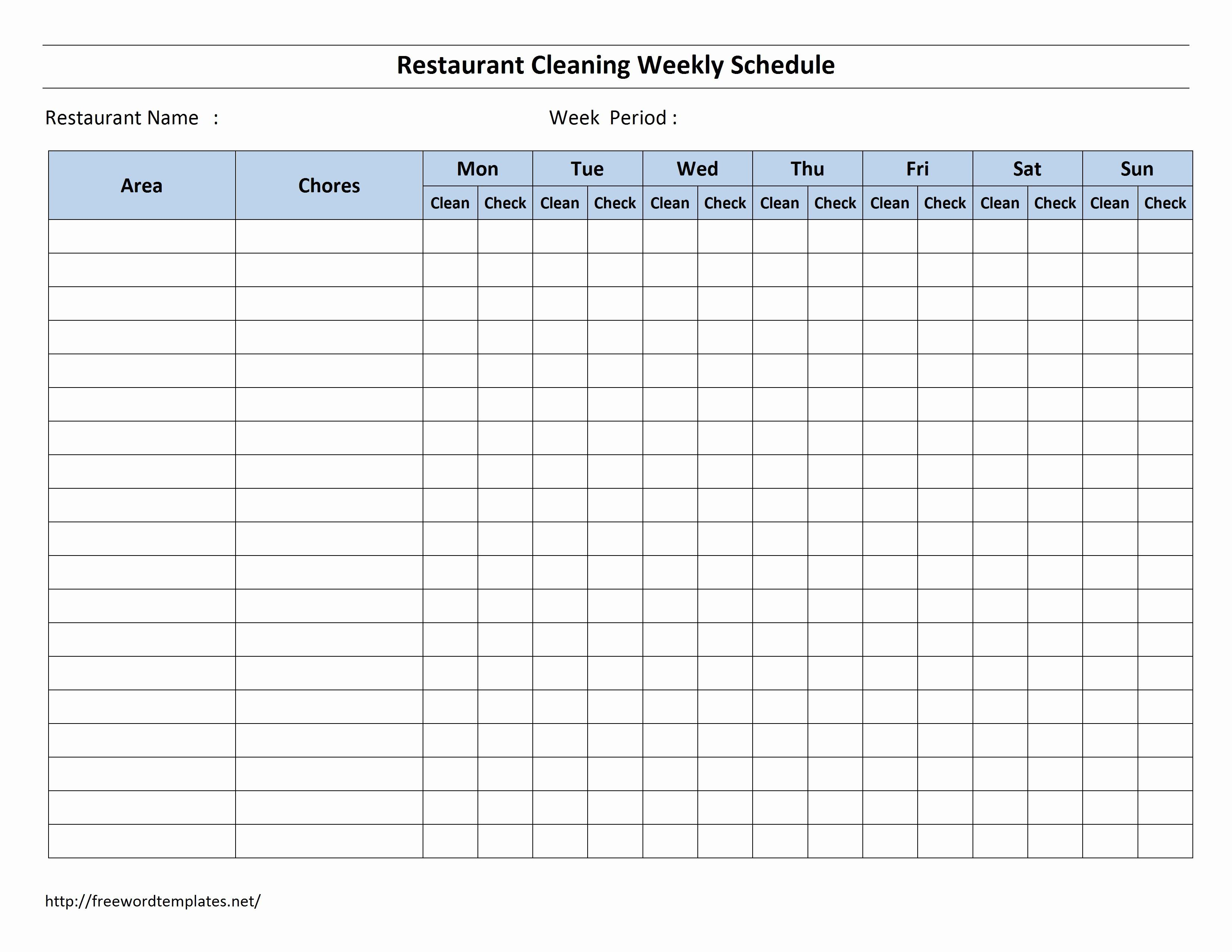 Printable Cleaning Schedule Template Awesome 6 Best Of Bathroom Schedule Printable Fr Cleaning Schedule Templates Cleaning Checklist Template Cleaning Schedule