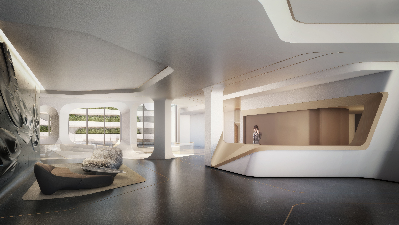 Tour Nyc S First Zaha Hadid Designed Apartments Zaha Hadid Zaha