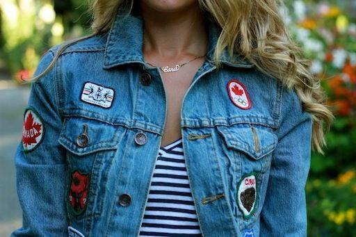 Oh Canada! Denim HBC Jacket