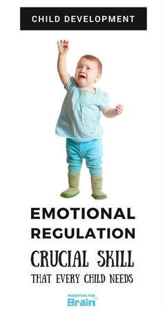 Self Regulation in Children  Parenting For Brain  The Importance Of Emotional Regulation