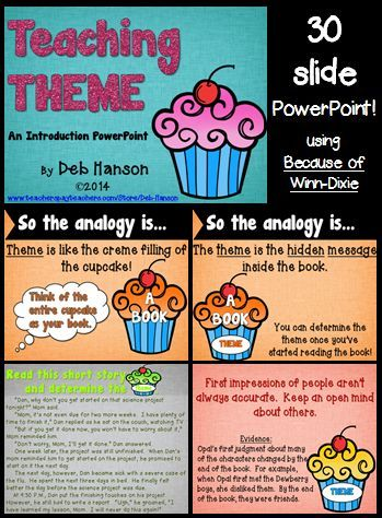 theme powerpoint lesson | literature, students and school, Powerpoint templates