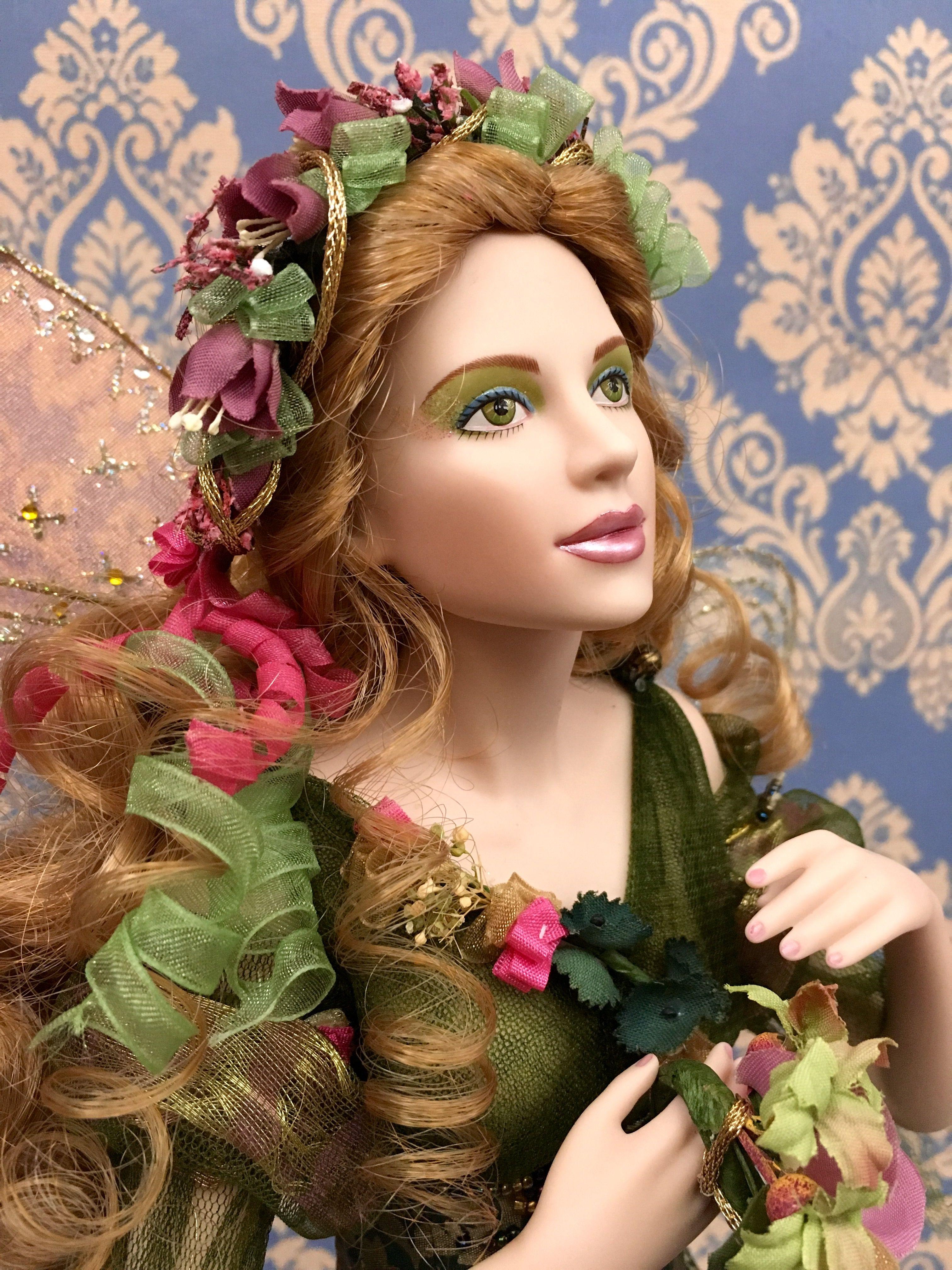 Titania, Fairy Queen Porcelain Collector Doll The