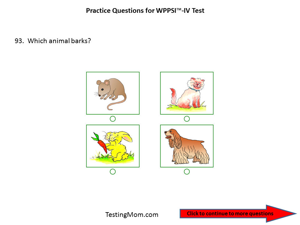 the wechsler preschool and primary scale of intelligence practice questions for the wppsi the wechsler preschool 421