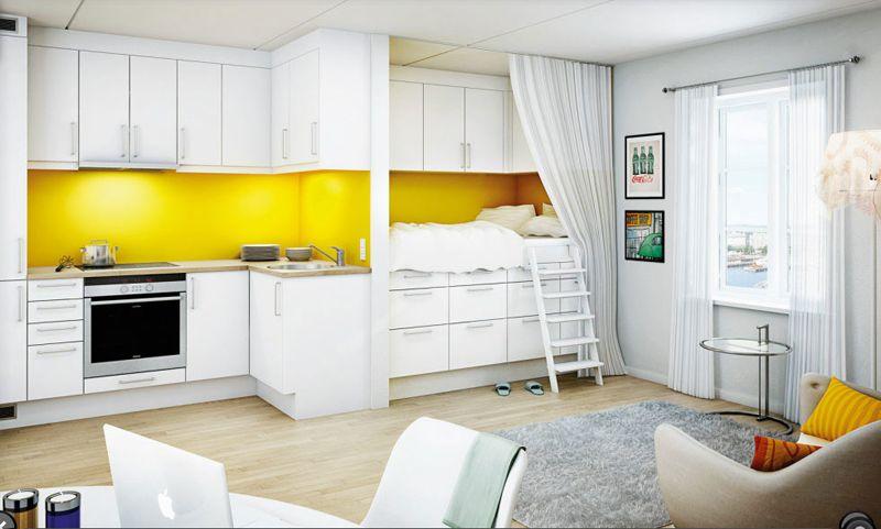 25 Cuisines modernes jaunes - Idées, Exemples, Inspirations ...