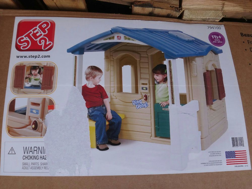 Step2 Naturally Playful Front Porch Playhouse Play Houses